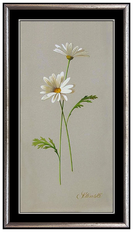 """Original Still Life with Daisies"" by Gerald Stinski"