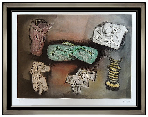 """Sculptural Ideas 4"" by Henry Moore"