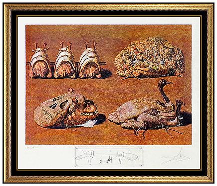 """""""Les Caprices Pinces Princiers"""" by Salvador Dali"""