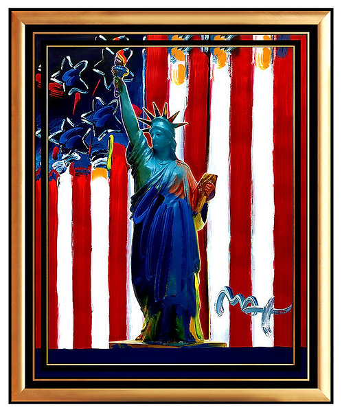 """""""UNITED WE STAND"""" by Peter Max"""