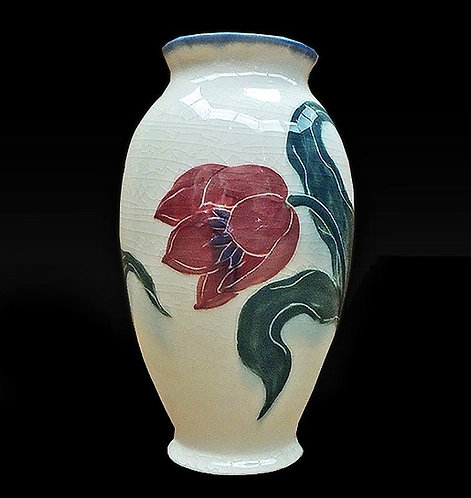 """Hand Glazed Rookwood Ceramic Vase"" Edward T. Hurley"