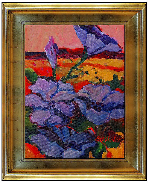 """Original Morning Glories in Light"" by Susan Amstater"