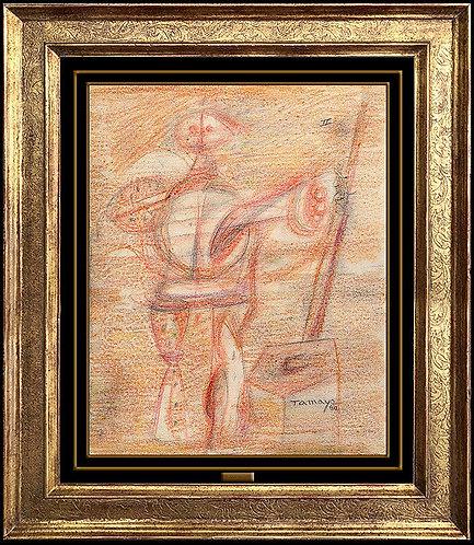 """""""Original Santo de Felicidad"""" by Rufino Tamayo"""