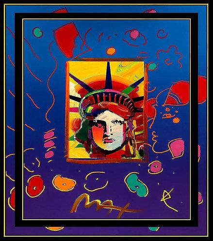 """Original Liberty Head"" by Peter Max"