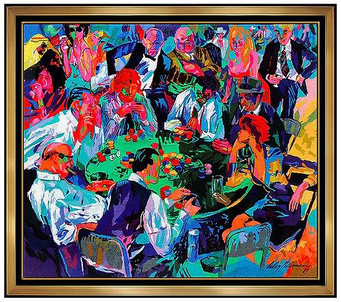 """""""Stud Poker"""" by Leroy Neiman"""