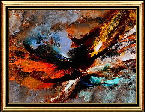 """Original Volcanic Fury"" by Leonardo Neirman"