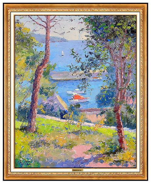 """""""Une Trouee Sur La Mediterranee"""" by Pierre Bittar"""