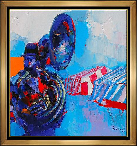"""""""Original Crown Blue"""" by Nicola Simbari"""