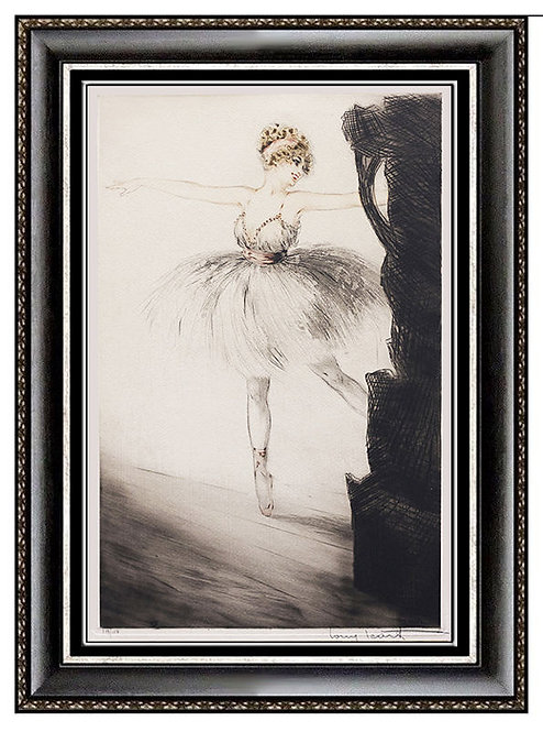 """""""Ballerina on Point"""" by Louis Icart"""