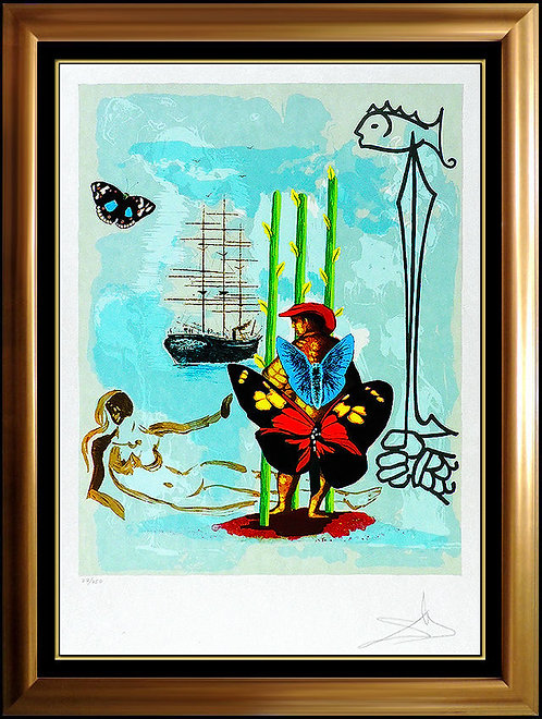 """Dream of Freedom"" by Salvador Dali"