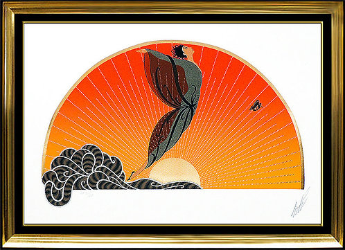 """Sunrise"" by Erte"