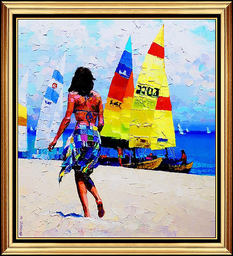 """""""Original Oceanside Breeze"""" by Howard Behrens"""
