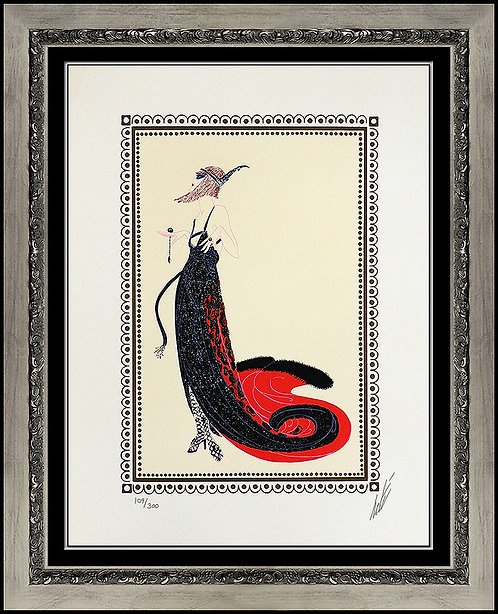 """Black Magic"" by Erte"
