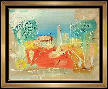 """Original Place de la Concorde"" by Charles Cobelle"