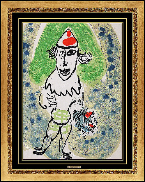 """Jester"" by Marc Chagall"