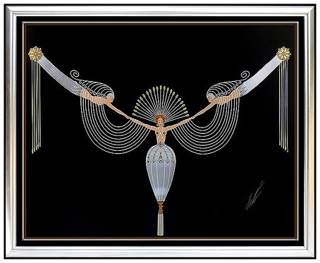 """The Necklace"" by Erte"