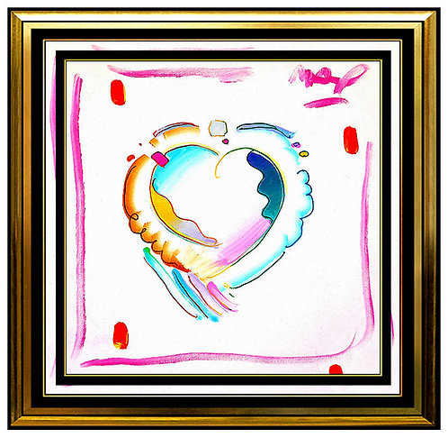"""Original Heart"" by Peter Max"