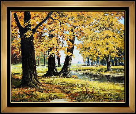 """Original October Morning"" by Robert William Wood"