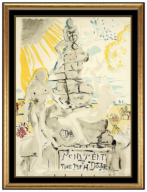 """Monument to the Ideal Doctor"" by Salvador Dali"