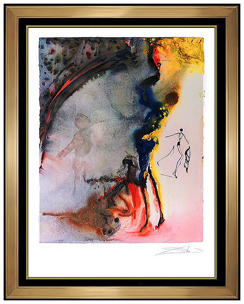 """""""Tauromachie III"""" by Salvador Dali"""