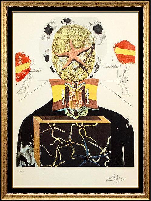"""Surrealist King"" by Salvador Dali"