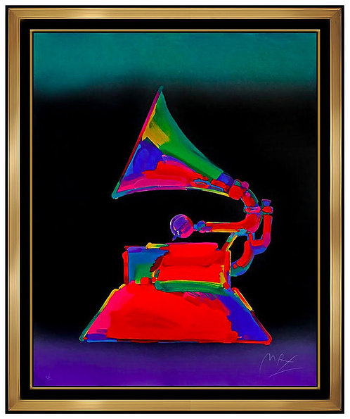 """The Grammy"" by Peter Max"