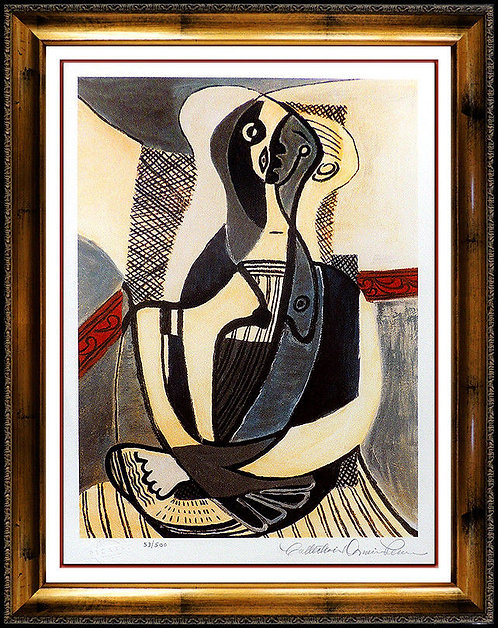 """Seated Woman"" by Pablo Picasso"