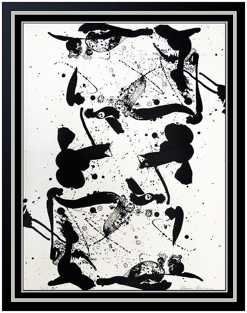 """Up and Down"" by Sam Francis"