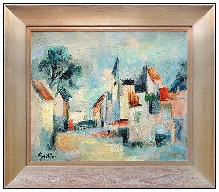 """Original Urban Portrait"" by Egon Adler"