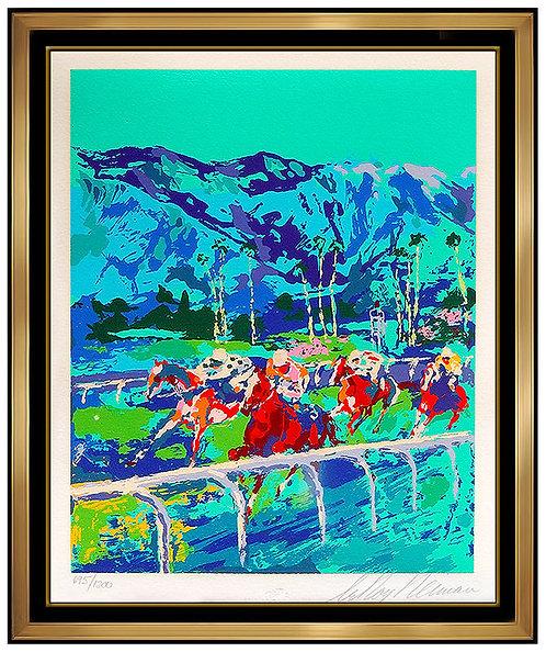 """Santa Anita"" by Leroy Neiman"