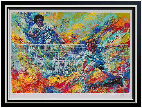 """""""Tennis Players"""" by Mark King"""