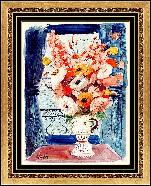 """""""Fleurs de la Fenetre"""" by Charles Levier"""
