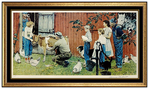 """""""County Agricultural Agent"""" by Norman Rockwell"""
