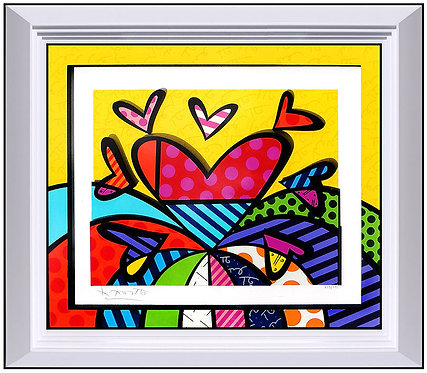 """I Love This Land"" by Romero Britto"