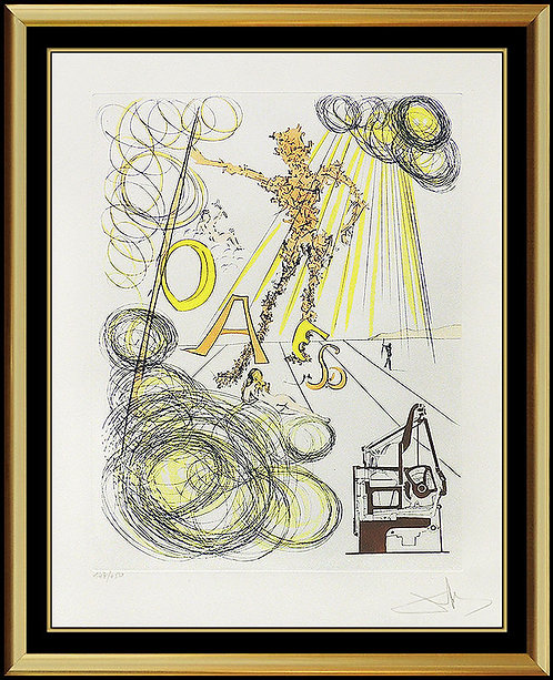 """Linotype"" by Salvador Dali"
