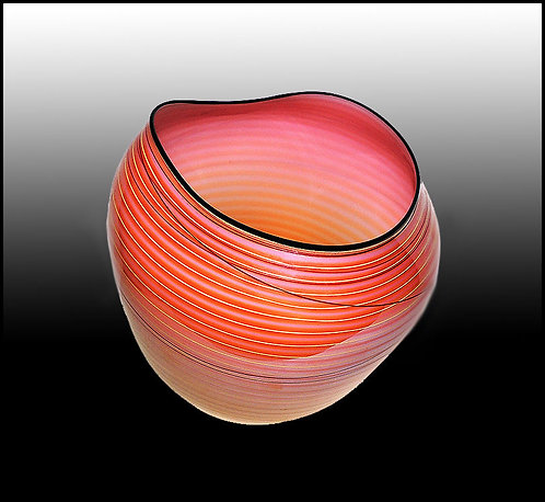 """""""Hand Blown Coral Basket"""" by Dale Chihuly"""