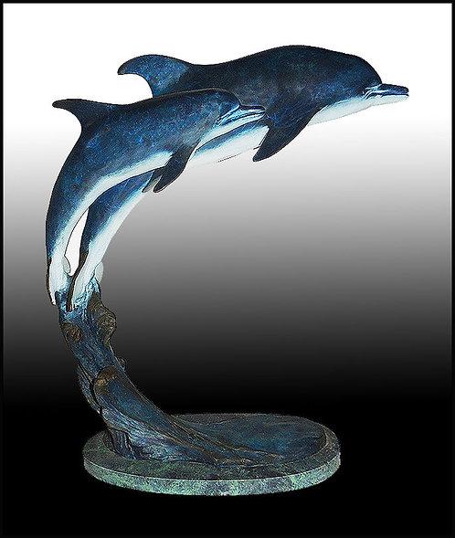 """""""Dolphins"""" by Laran Ghiglieri"""