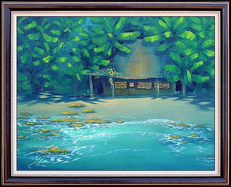 """""""Original Beach Cabana"""" by Rob Kaz"""