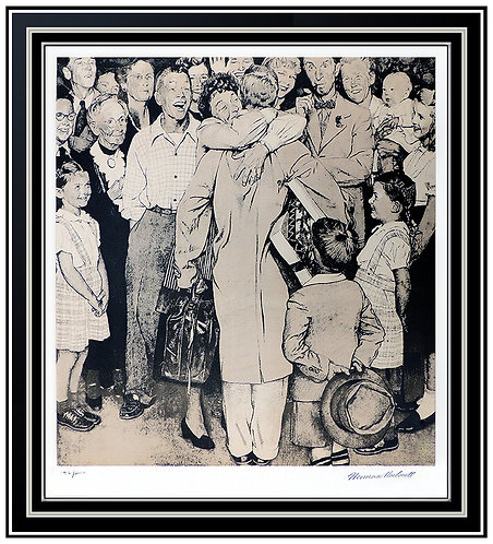 """The Homecoming"" by Norman Rockwell"