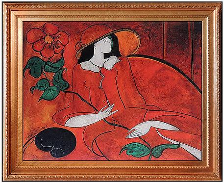 """""""Original Poesie Rouge"""" by Linda Le Kinff"""