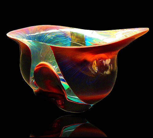 """Original Glass Bowl"" by Dino Rosin"