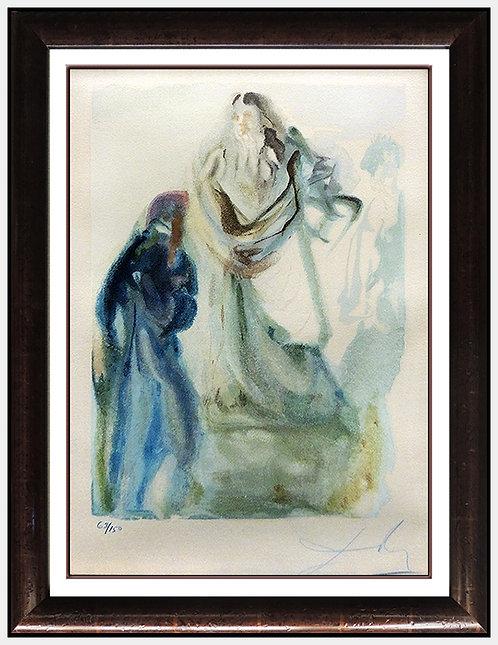 """Paradise Canto 28"" by Salvador Dali"
