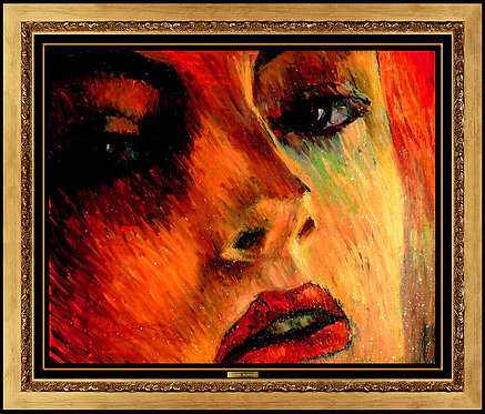 """Original Passion's Whisper"" by Martiros Manoukian"