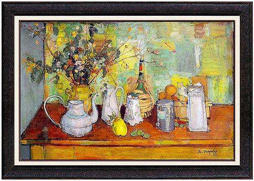 """""""Fleurs et Cruche"""" by Andre Vignoles"""