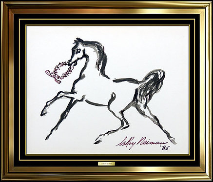 """Dressage Victory"" by Leroy Neiman"