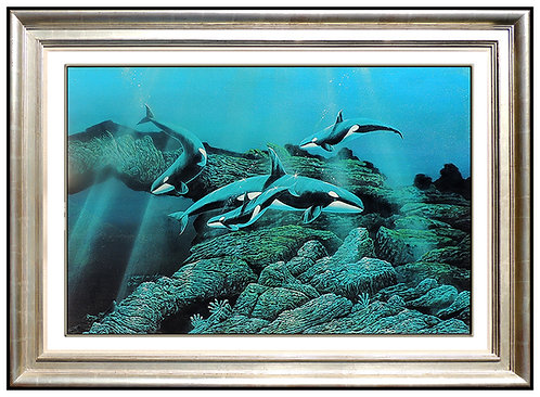 """Original Orca Pack"" by Robert Lyn Nelson"