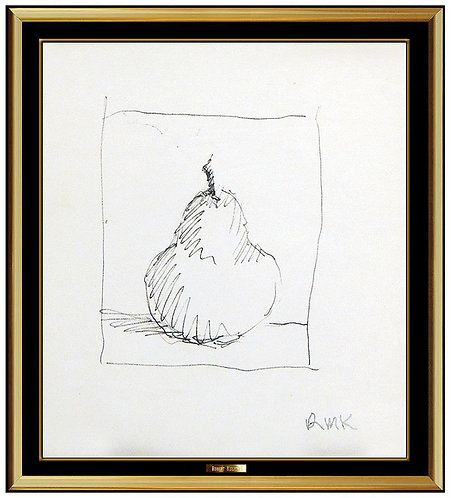"""Original Single Pear"" by Robert Kulicke"
