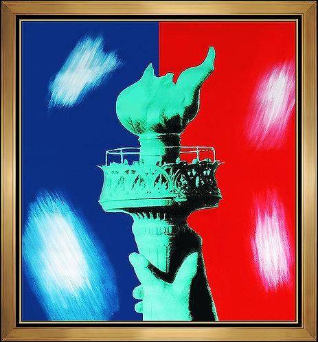 """""""Original Liberty Torch"""" by Steve Kaufman"""