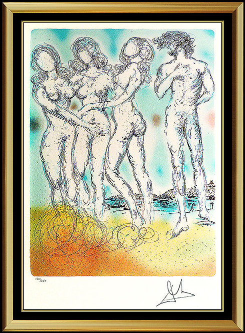 """Judgement of Paris"" by Salvador Dali"