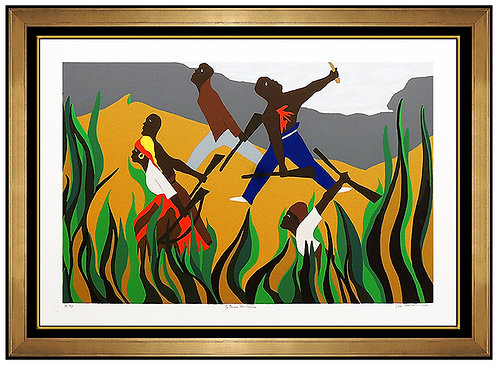 """""""To Preserve Their Freedom"""" by Jacob Lawrence"""